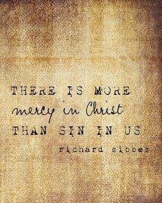 Mercy > Sin