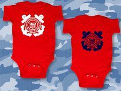 SEMPER PARATUS!!! Coast Guard Infant Bodysuit United States Coast by AppleCopter