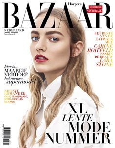Maartje Verhoef photographed by Migjen Rama for Harper's Bazaar Netherlands, March 2015 issue