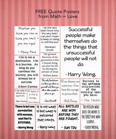 Amazing quotes for the classroom...love Walt Disney's quote