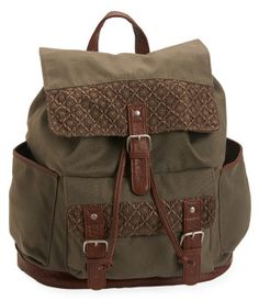 Crochet Cinch Backpack -