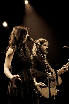 "The Civil Wars- I feel like they swallowed Woody Gutherie, EmmyLou Harris, and Johnny Cash and a dash of ""Old time religion"" and are creating something amazing and current."