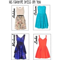 Preferences - His Favourite Dress On You, created by imagine-5sos on Polyvore