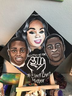 Ahmaud Arbery, Brionna Taylor, George Floyd. Grad Cap, Names Of Jesus, The Dreamers, Arts And Crafts, Paintings, Hat, Trending Outfits, Unique Jewelry, Handmade Gifts