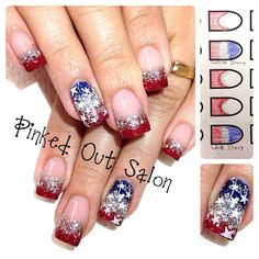4th if July nail art