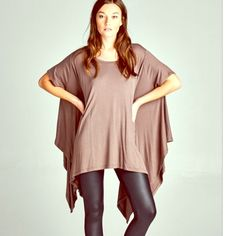 AVAILABLE! Mocha Swing Tunic COMING SOON! Comment to reserve. OS. NWT. linsleppo2 Tops Tunics