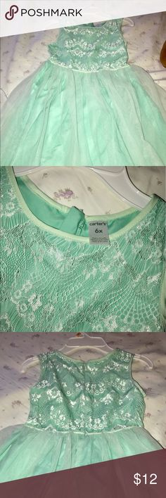 Carters dress Light turquoise dress for sale. Worn once for a performance. Carter's Dresses Formal