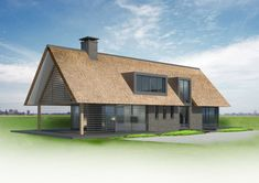 Building A Wooden House, Backyard House, Loft House, Villa, Spa, Home And Living, Exterior Design, Future House, Cottage