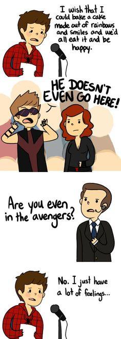 Mean girls Peter Parker