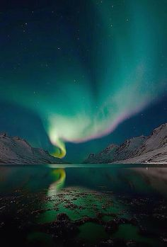 """Aurora boreal. Islandia"""