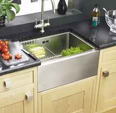 Astracast stainless steel Belfast sink with free accessories. http://www.sinks-taps.com/item-7614-Stainless_Steel_Belfast_Sink_with_FREE_ACCESSORIES.aspx