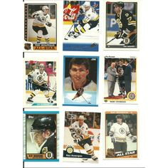 HUGE Different 30 RAY BOURQUE cards lot Bruins Hall of Famer