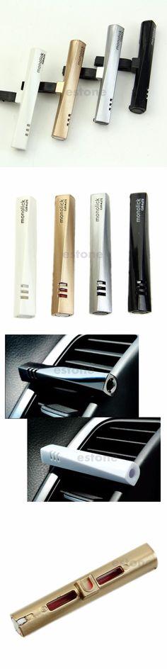 1pcs Amazing Clip Flavor Car Air Freshener Auto Perfume Vehicle Diffuser Fragrance Car vent sticks