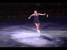 Who better to interpret Loreena McKennitt's eerily beautiful music than Michelle Kwan? This is, for my money, one of the most exquisite artistic collaborations on or off the ice. My spirit rises with just the opening note, when, Michelle standing still, comes to life, as it were, with the piano. No words.