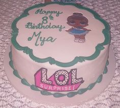 Girl's LOL Doll birthday cake