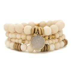 Bracelet Making, Jewelry Making, Shell Bracelet, Jasper Stone, Gemstone Bracelets, Stretch Bracelets, Statement Jewelry, Semi Precious Gemstones, Beaded Jewelry