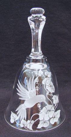 Crystal Hummingbird Bell
