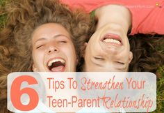 Use these tips to help strengthen your teen-parent relationship, stay connected with your teen, and avoid being the parent who lectures or asks too much.