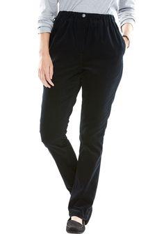 316186e8eee79 Comfort Waist Straight Leg Corduroy Pant