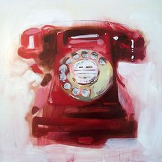 James Paterson     |  Red Bakelite Telephone, 2008