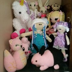 Crochet some of my work
