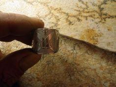 2 aneis - 1 anel de xango e exu e 1 anel de ogum