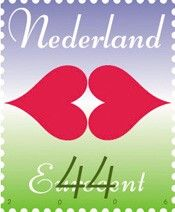 Valentine Stamp from Holland