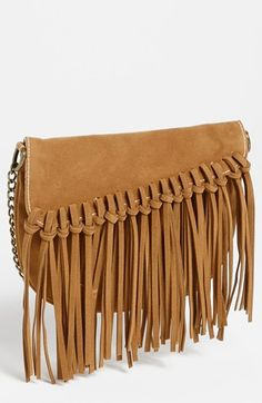 fringe knot crossbody bag - $30 and SUPER cute!