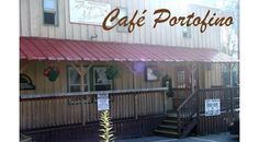 Cafe Portofino in Boone. Surprisingly good food and nifty outdoor seating.