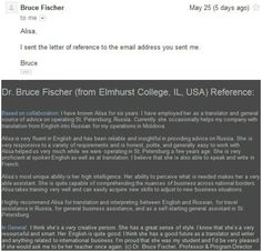 Reference & mail Proof from Dr. Bruce Fischer: http://www.elmhurst.edu/