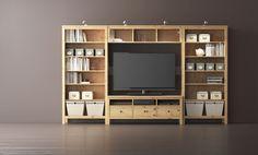 HEMNES serie   #IKEAcatalogus #nieuw #2017 #IKEA #IKEAnl #boekenkast #wand #verbindingsplank #tv #meubel #woonkamer #slaapkamer