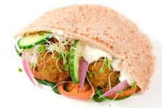 The best falafel in town. #Anat #food #falafel