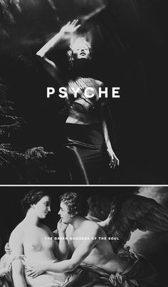 """Psyche is the goddess of the soul in Greek mythology. Her name literally means """"soul"""" or """"breath of life"""". She was originally born as a beautiful mortal woman, however her affair and marriage with the Eros (the god of love) eventually lead to her becoming his immortal wife. She is seen as being a merciful goddess and the story of Eros and Psyche is about how love and the soul came together."""