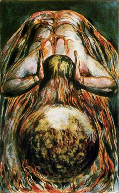 And the globe of life blood trembling - The Book of Urizen - William Blake