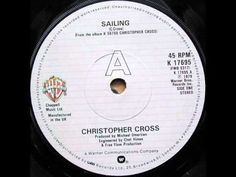 Christopher Cross- Sailing---one of my favorite songs!!!!! ms