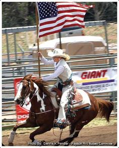 Go to a rodeo if you are in cowboy country.