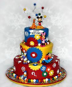 Ideas de la torta de la diversión