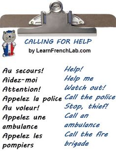 Learn French Survival Phrases with Audio before going to France.