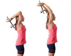 How To Get Rid Of Flabby Arms - Tricep Extensions