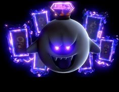 """I know a lot of people probably didn't watch the new Nintendo Minute, but I feel like no one is talking about how terrifying the Game Over screen in Luigi's Mansion 3 is. Luigi Mansion, Luigi's Mansion 3, Super Smash Bros, Super Mario Bros, Luigi's Mansion Dark Moon, Game Over Screen, Mario Und Luigi, Overlays, King Boo"