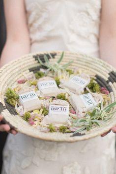 Soap favors | Photography: NBarrett Photography