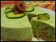 Cheesecake salato zucchine e prosciutto crudo