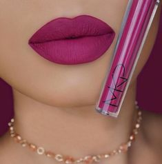 Mystery Matte Lipstick is creamy and glamorous! This lipstick is full-coverage, lightweight, long lasting and highly pigmented. Its rich formula dries to a perfect matte finish without drying your lips. Lipstick Shades, Lipstick Colors, Lip Colors, Makeup Dupes, Makeup Remover, Lip Makeup, Liquid Lipstick, Matte Lipstick, Lipsticks