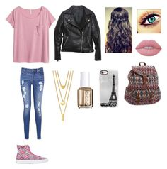 Me #138 by jaydengonz on Polyvore featuring polyvore, fashion, style, H&M, Relaxfeel, Tommy Hilfiger, Aéropostale, BERRICLE, Casetify, Lime Crime, Essie and clothing
