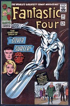 Fantastic Four # 50 , May 1966  , Marvel Comics Vol 1 1961 tumblr_nin50htZOV1rn55nzo1_540.jpg (538×810)