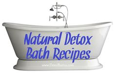 If you can't afford detox baths and wraps at the spa on a regular basis, why not. If you can't afford detox baths and wraps at the spa on a regular basis, why not do it yourself at home for a fraction of the cost! Here are 7 recipes to get you started! Detox Bath Recipe, Bath Detox, Body Detox Cleanse, Skin Detox, Bath Recipes, Detox Recipes, Health And Beauty, Health And Wellness, Home Detox