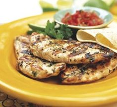 Petto di pollo alla menta, secondo piatto light | ButtaLaPasta