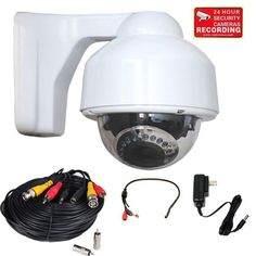Special Offers - VideoSecu IR Infrared Dome Security Camera Outdoor Day Night 4-9mm Varifocal Lens for CCTV Home Surveillance DVR System with Preamp Microphone Audio Video Power Cable and Power Supply CNM - In stock & Free Shipping. You can save more money! Check It (July 10 2016 at 02:00AM)…