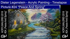 """Dieter Legenstein - Acrylmalerei 2018 / Picture """"Peace And Spring"""" Painting & Drawing, Peace, Digital, Drawings, Spring, Youtube, Pictures, To Draw, Photos"""