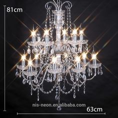 home lighting and decoration 14 led light fixture chrome or white crystal wedding chandelier NS120037C